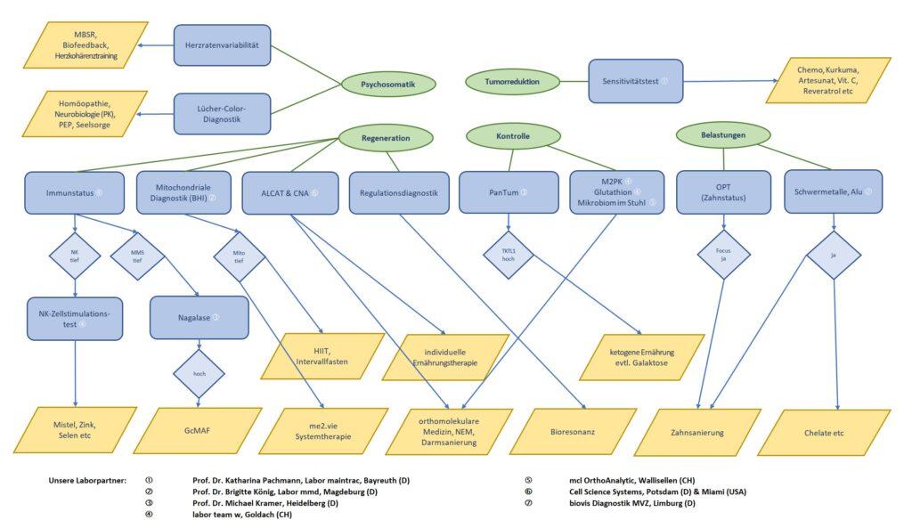 Komplementäre Diagnostik ohne Titel